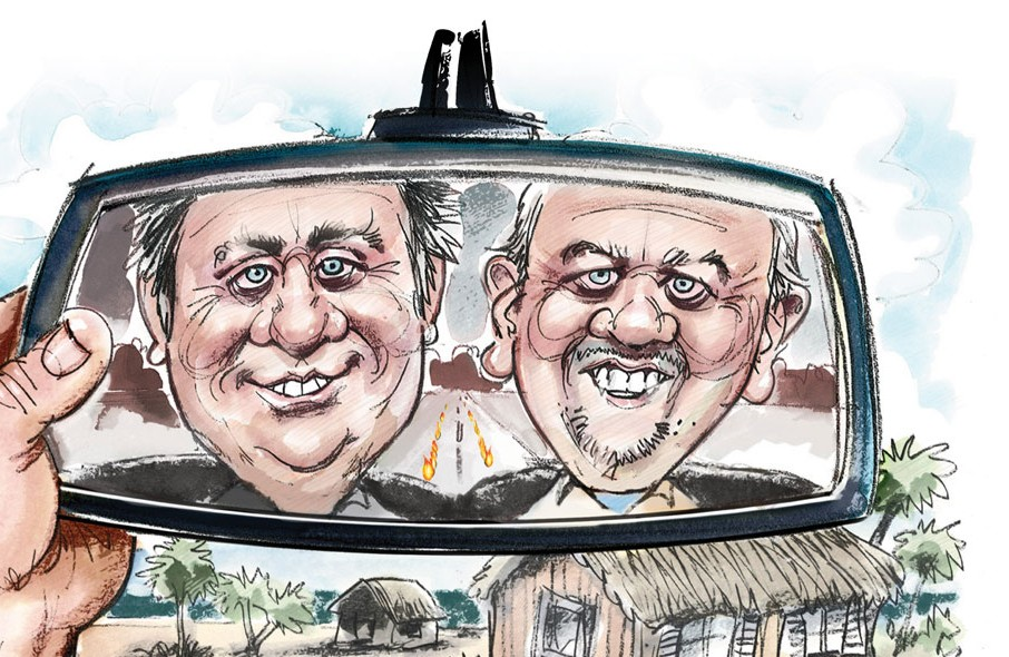 Illustration: Marty Rathbun & Mike Rinder